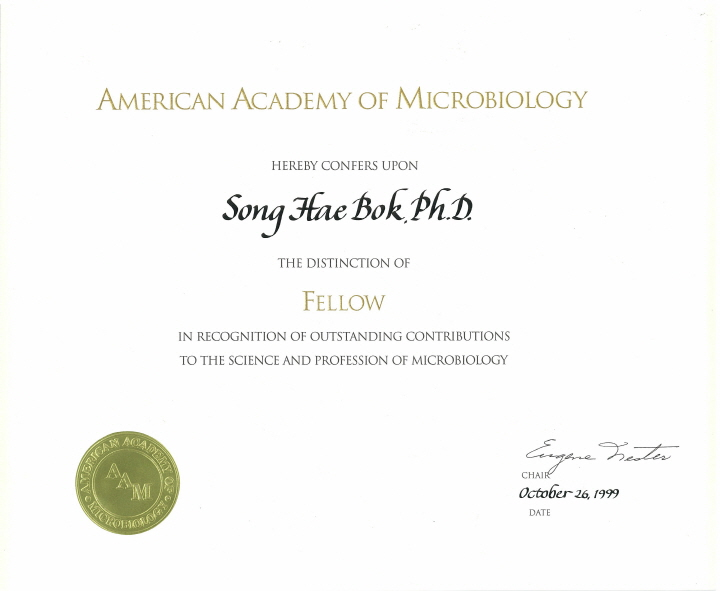American academy of microbiology 1999